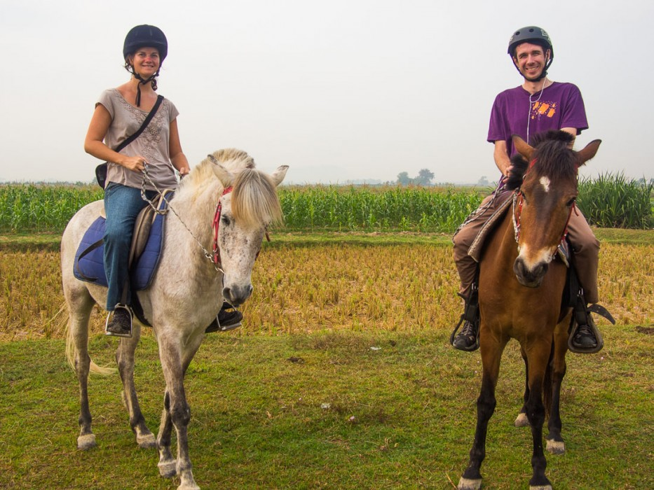 Horse riding with The Happy Ranch