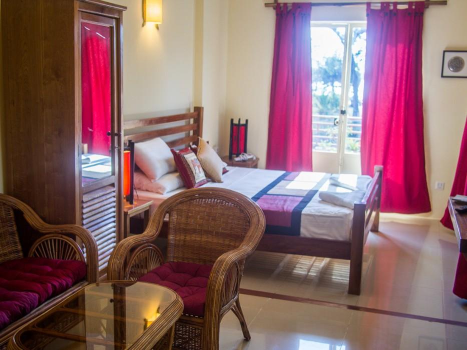 Our room at Mea Culpa, Kampot