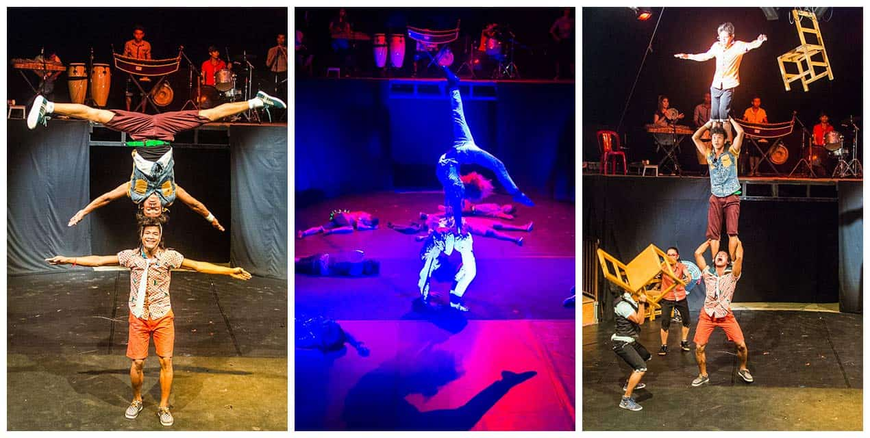 Phare circus - one of the best things to do in Siem Reap
