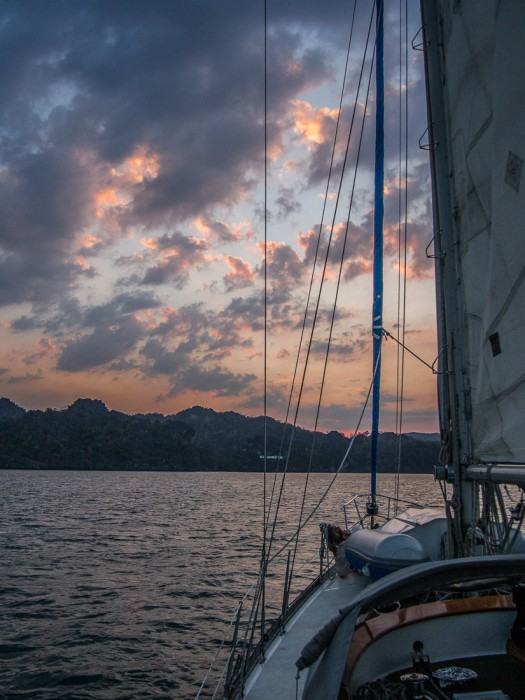 Sailing into the sunset, Langkawi sailing school review