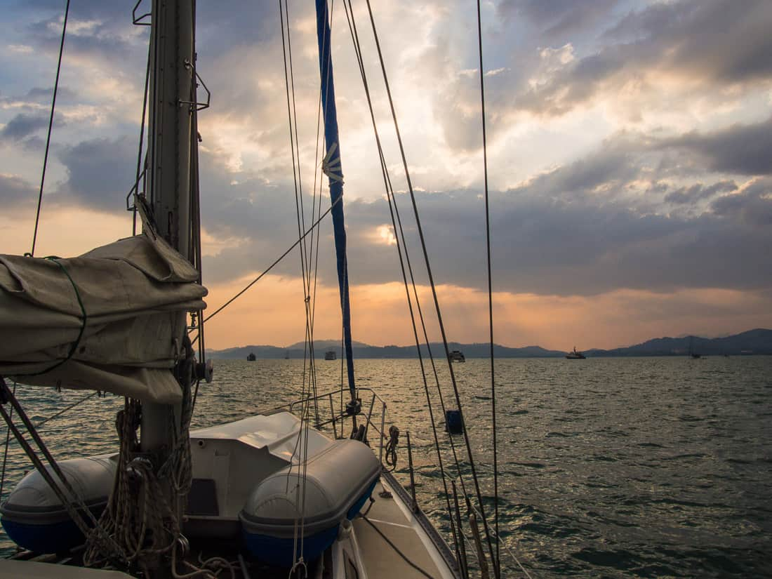 Sailing into the sunset with Langkawi Sailing School