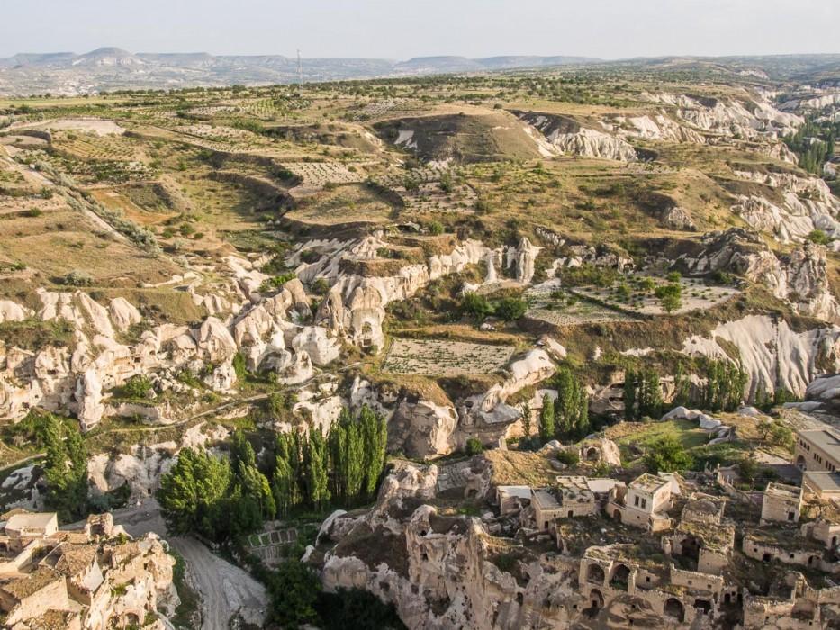 Ortahisar castle view, Cappadocia