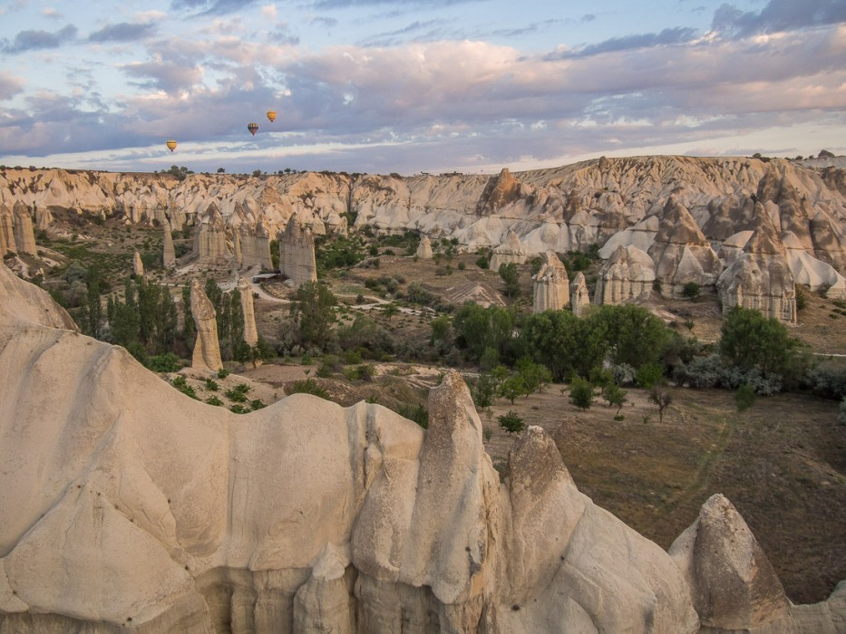 Love Valley, Hot Air Ballooning in Cappadocia with Turkiye Balloons