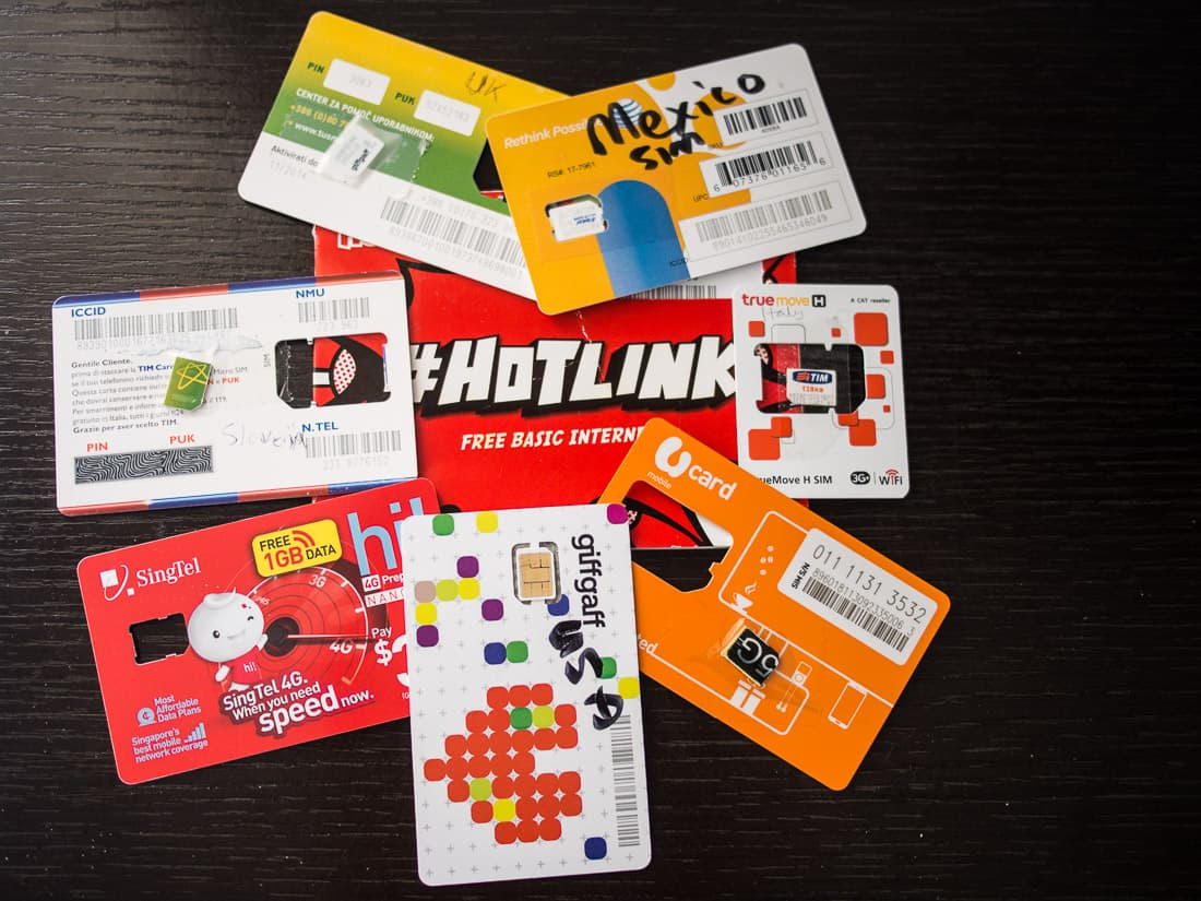 Buying local SIM cards overseas