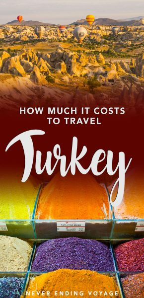 How much does it cost to travel Turkey? Here's a budget breakdown.