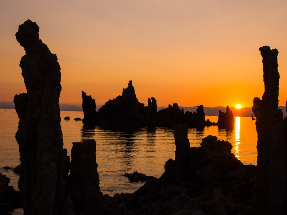 Mono Lake, California at sunrise