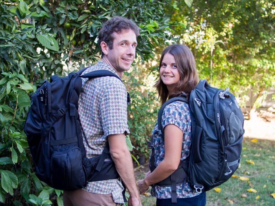 Best carry-on backpacks for digital nomads: Tortuga & Osprey Farpoint 40