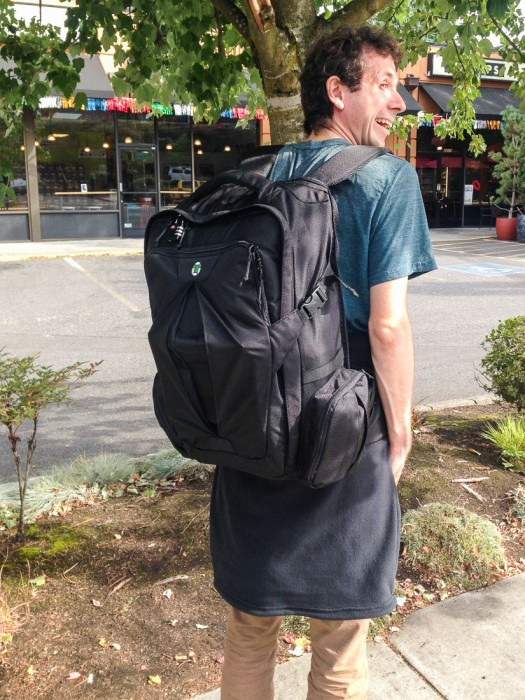 Tortuga travel carry-on backpack review for digital nomads