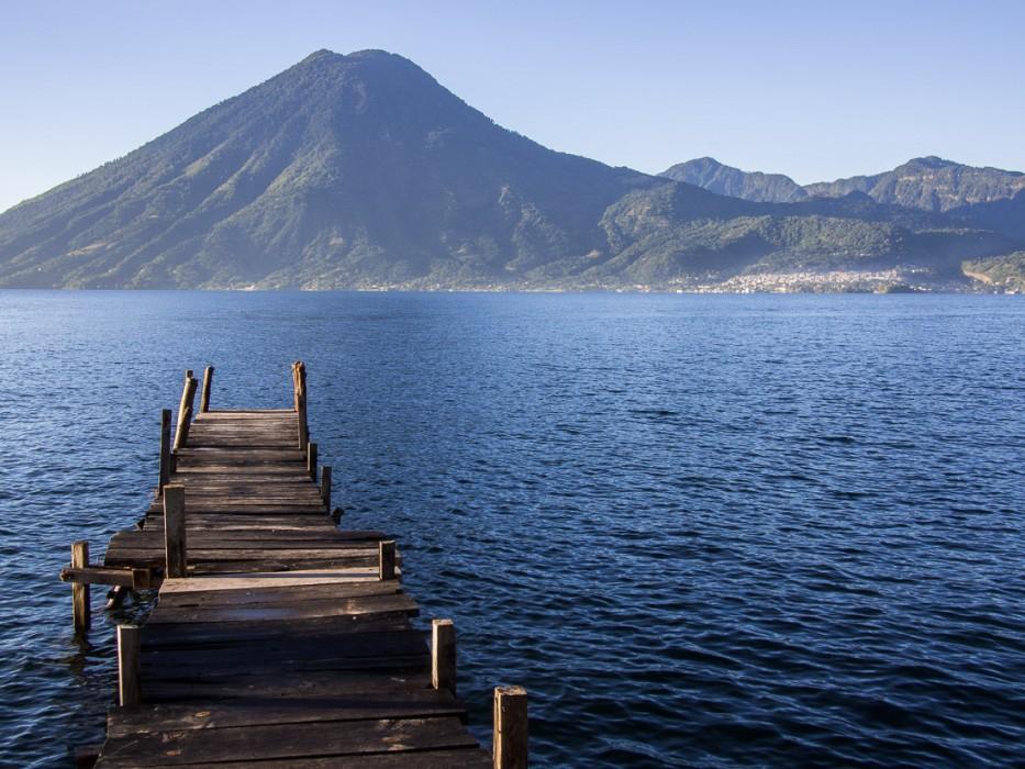 Dock at Pasajcap, San Marcos La Laguna