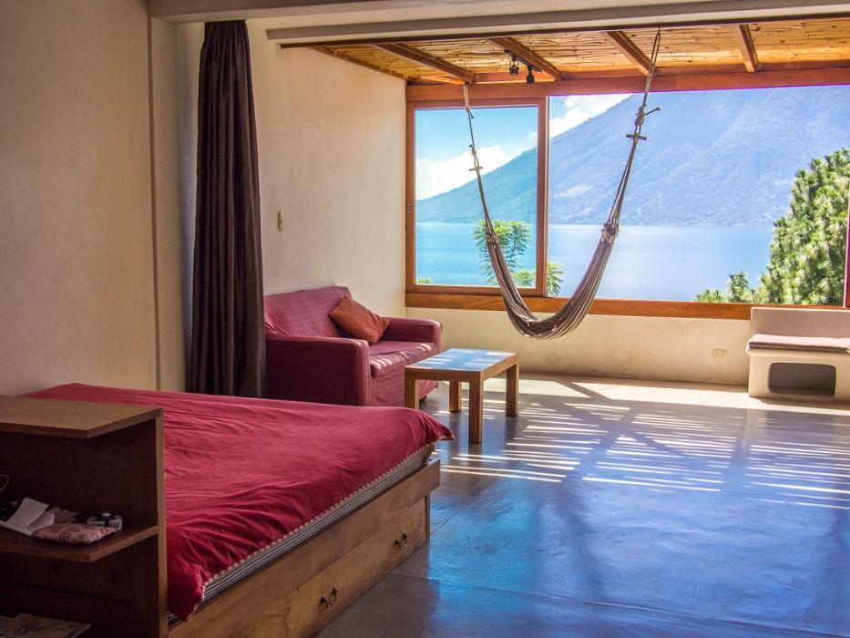 Ouro Preto apartment at Pasajcap- Living in San Marcos La Laguna, Lake Atitlan