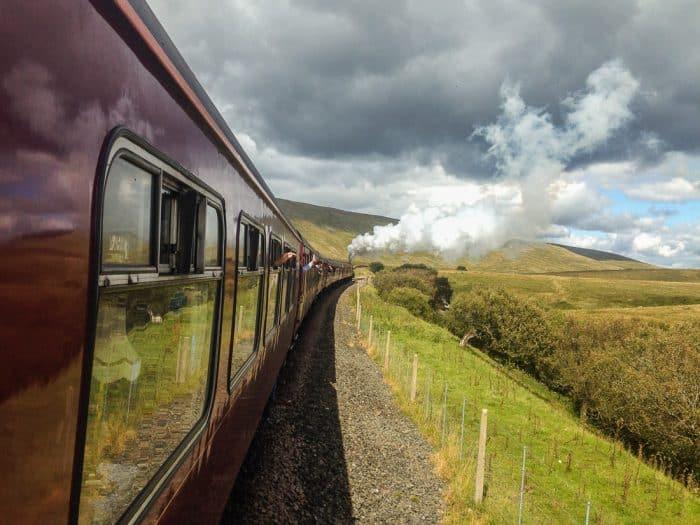 Steam train England