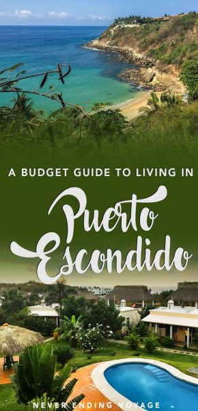 Here's a full budget breakdown of how much exactly it costs to live in Puerto Escondido