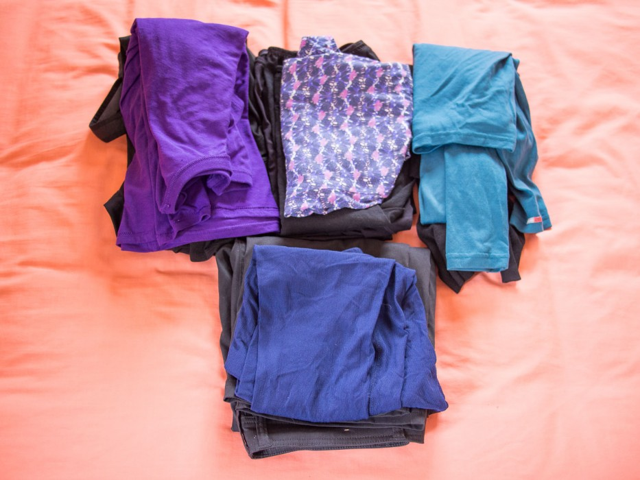 Carry on only packing list for cold weather - Erin's clothes
