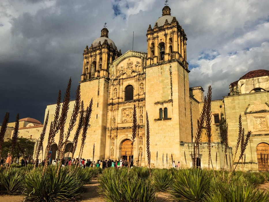 Santo Domingo church in Oaxaca