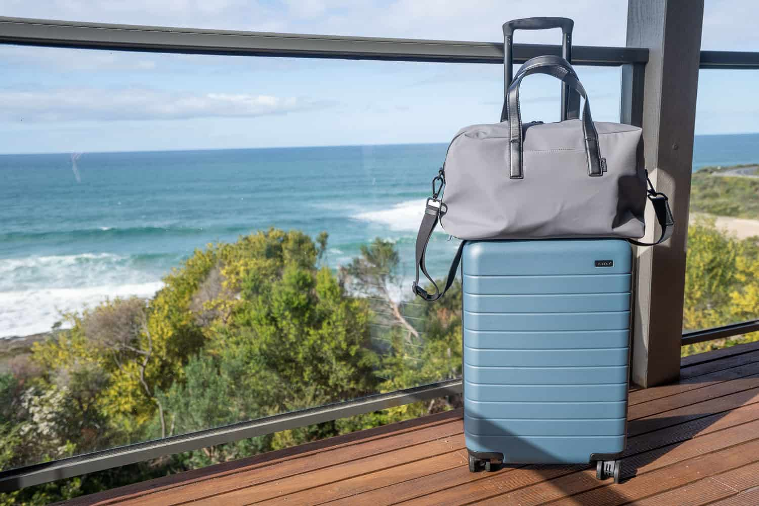 Away Bigger Carry On and Everywhere Bag - a guide to airline carry on luggage size