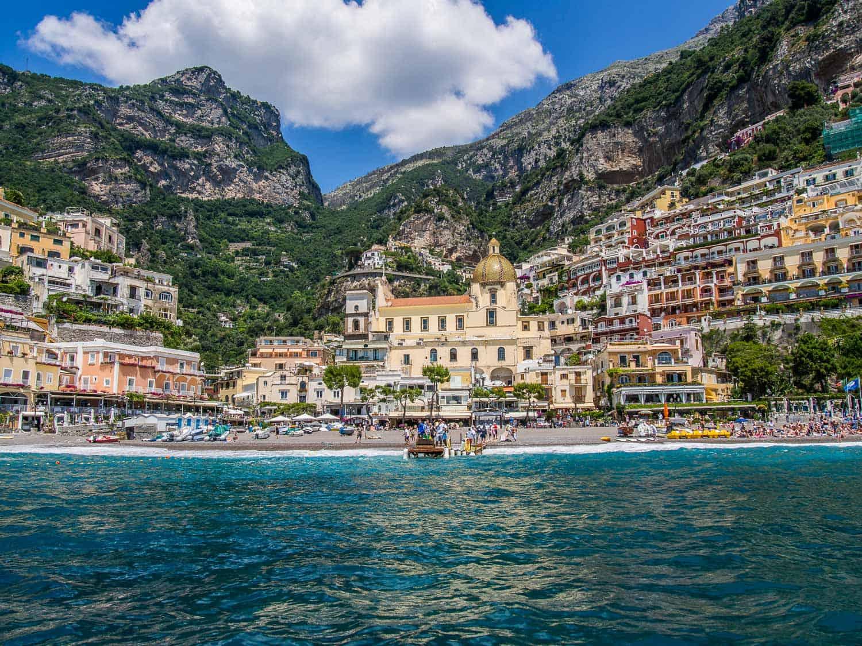 Positano, Amalfi Coast sailing trip