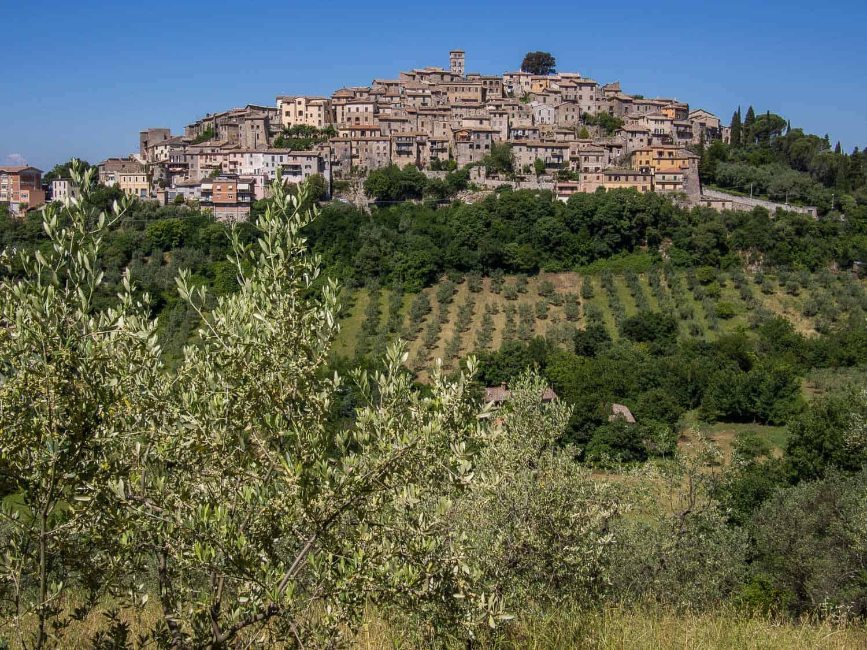 Casperia, Sabina - olive oil tour Rome