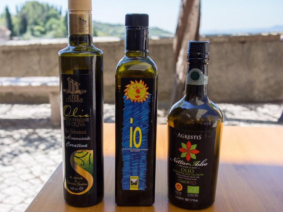Olive oil tour Rome with Johhny Madge
