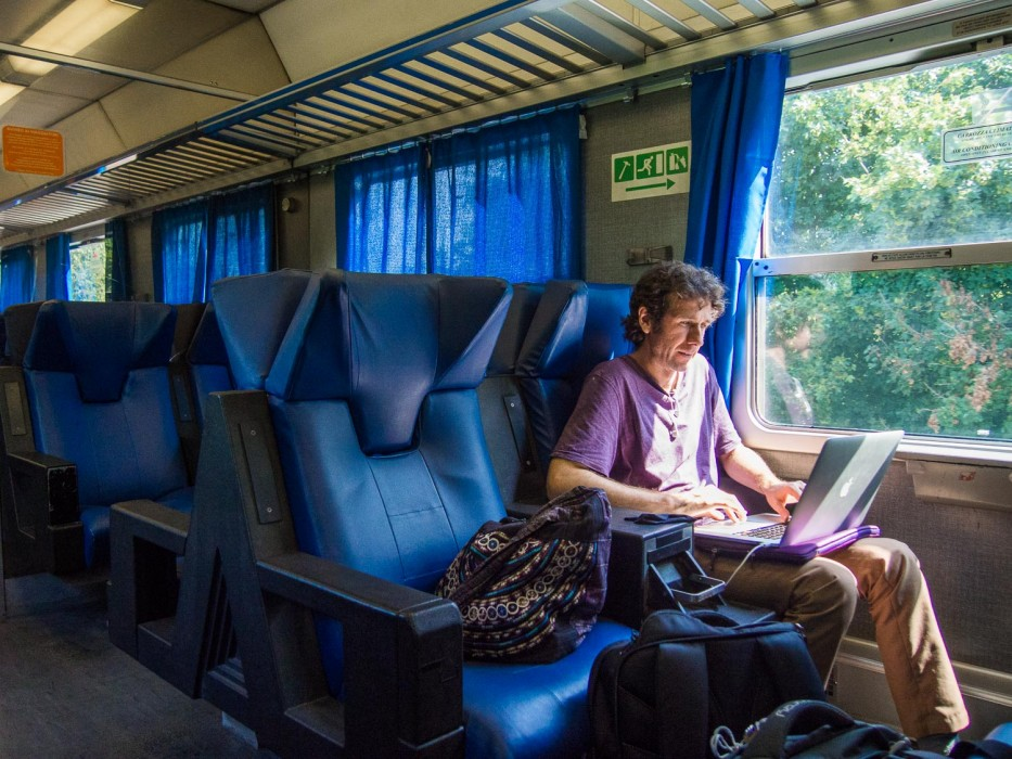 Italy to London by train: Perugia to Florence