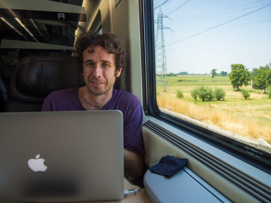 Italy to London by train: Florence to Milan