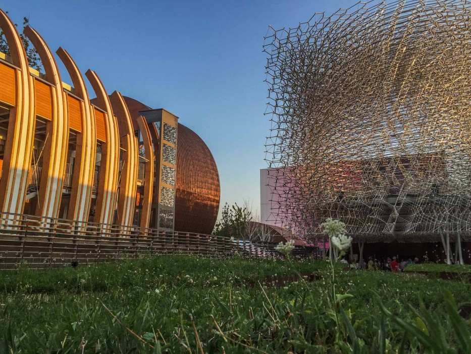 The UK Pavilion at the Milan Expo