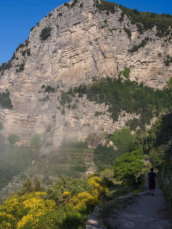 Path of the Gods hike, Amalfi Coast (on a budget)