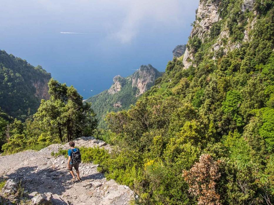 Path of the Gods hike, Amalfi Coast