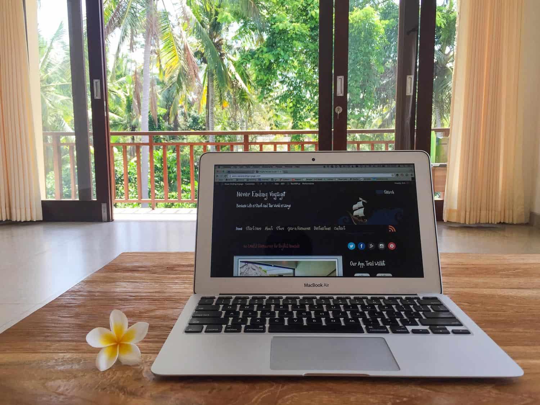 Digital nomad office, Ubud, Bali