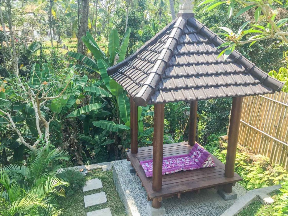 How to find a house to rent in Ubud - our pavilion
