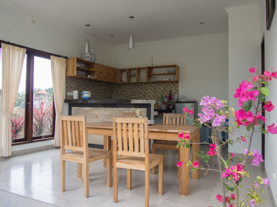 How to find a house to rent in Ubud - our kitchen