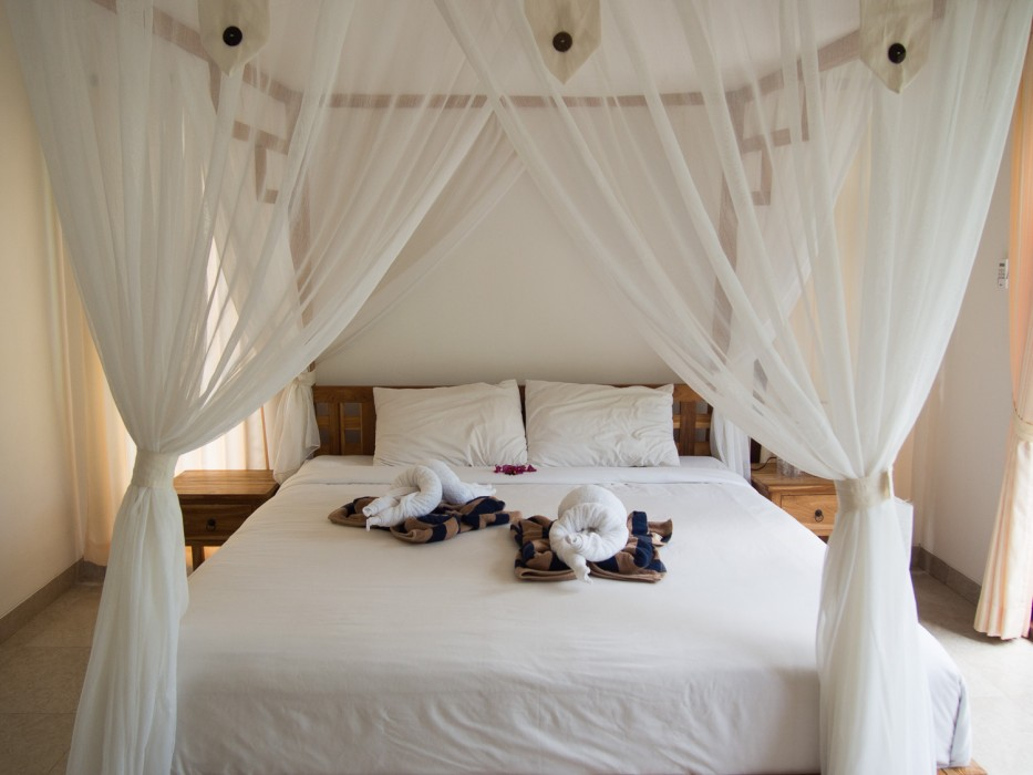 How to find a house to rent in Ubud - our bedroom