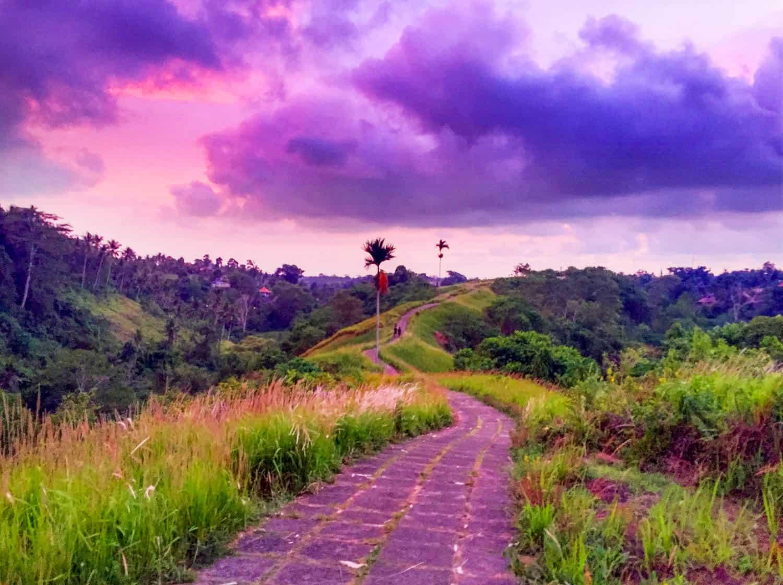 Campuhan Ridge - The cost of living in Ubud Bali