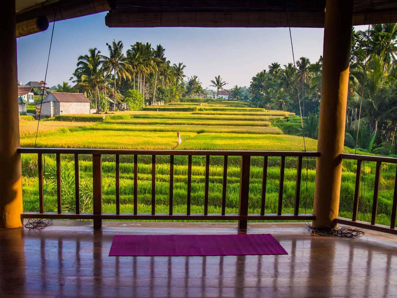 Yoga in Ubud at the Ubud Yoga House