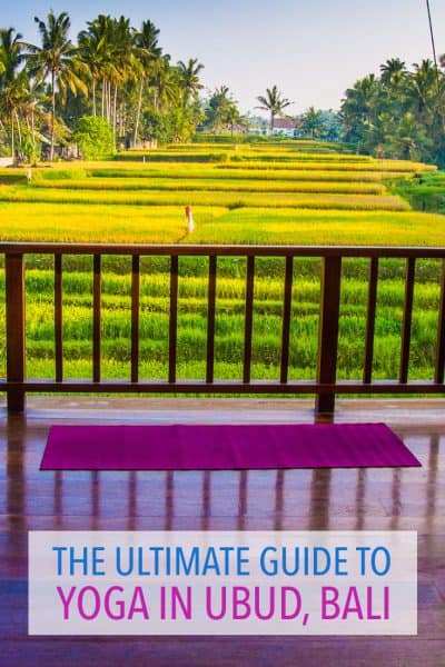 The best yoga studios in Ubud, Bali including drop-in classes, yoga retreats and more