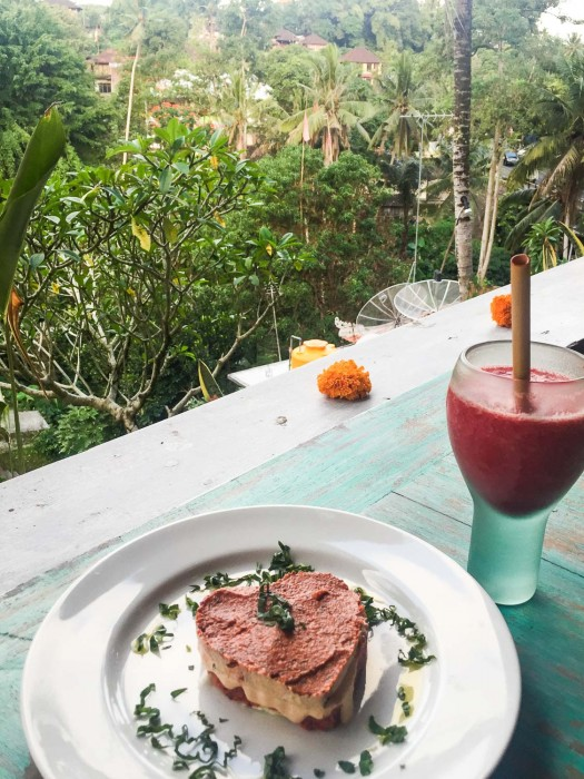 Clear Ubud vegetarian restaurant