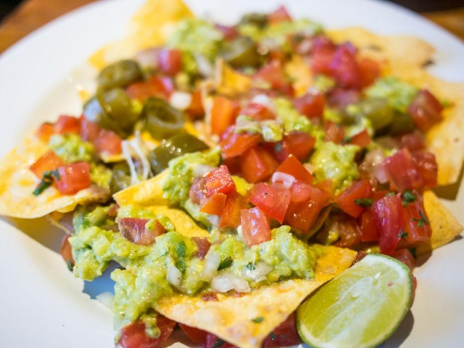 Best vegetarian restaurants in Ubud - Taco Casa nachos