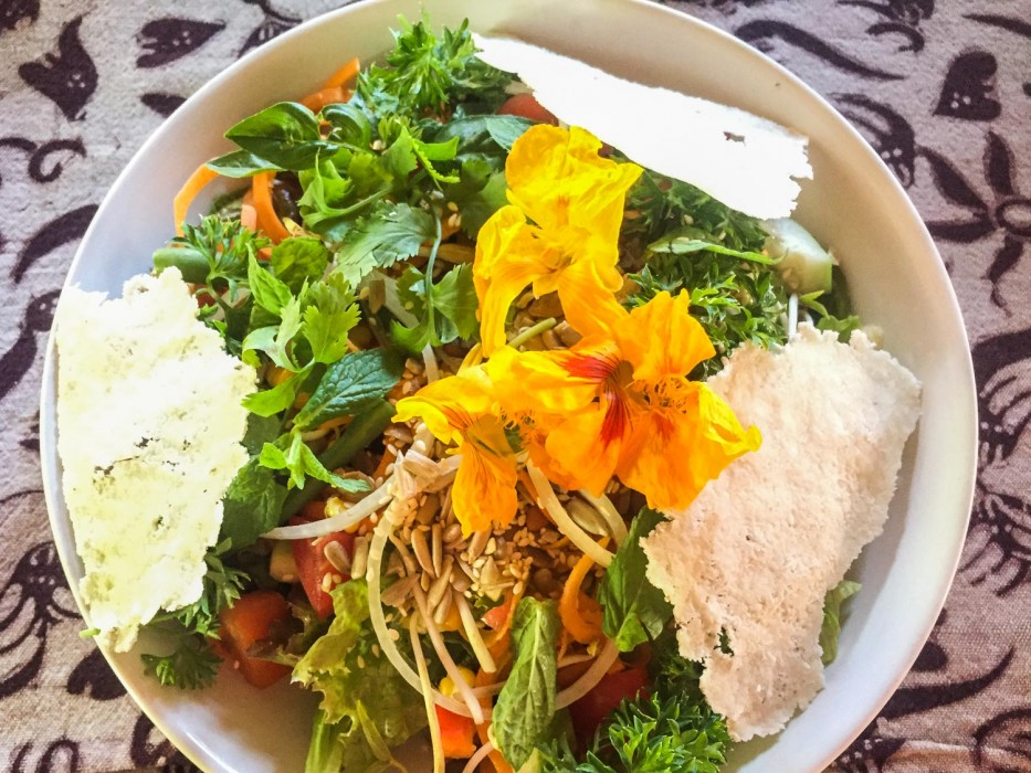 Ubud vegetarian restaurants Bali Buda