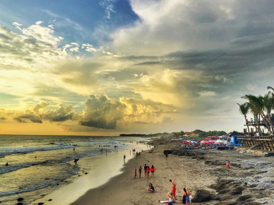 Sunset at Echo Beach, Canggu