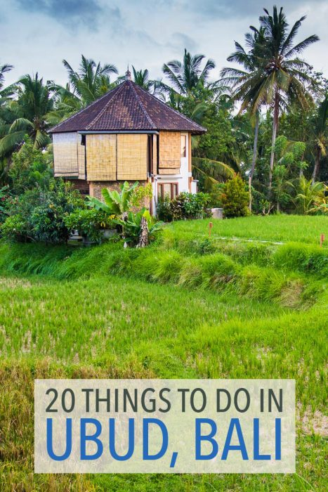 These 20 things to do in Ubud, Bali will help you avoid the crowds and make the most of your stay in this beautiful town.
