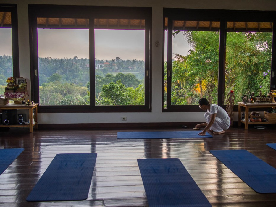 Things to Do in Ubud- Yoga at