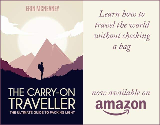 The Carry-On Traveller Book