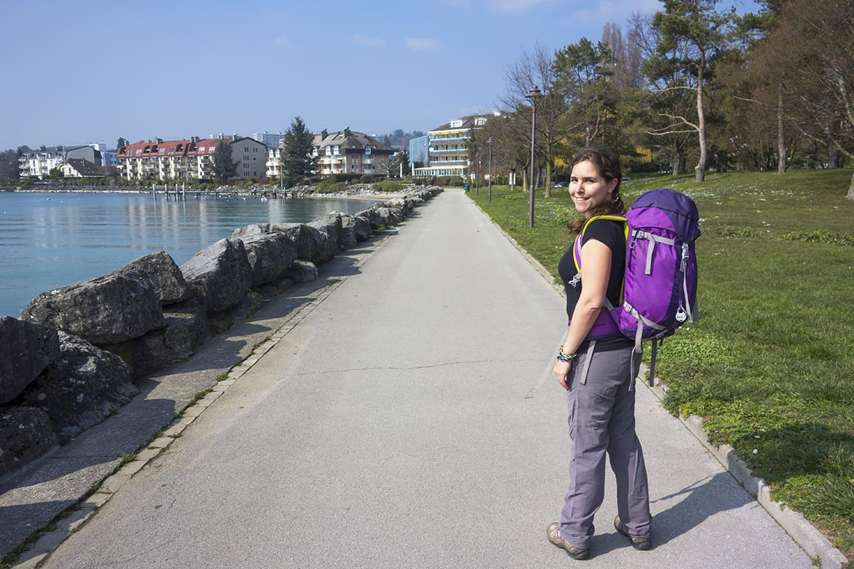 Laia on her round the world trip