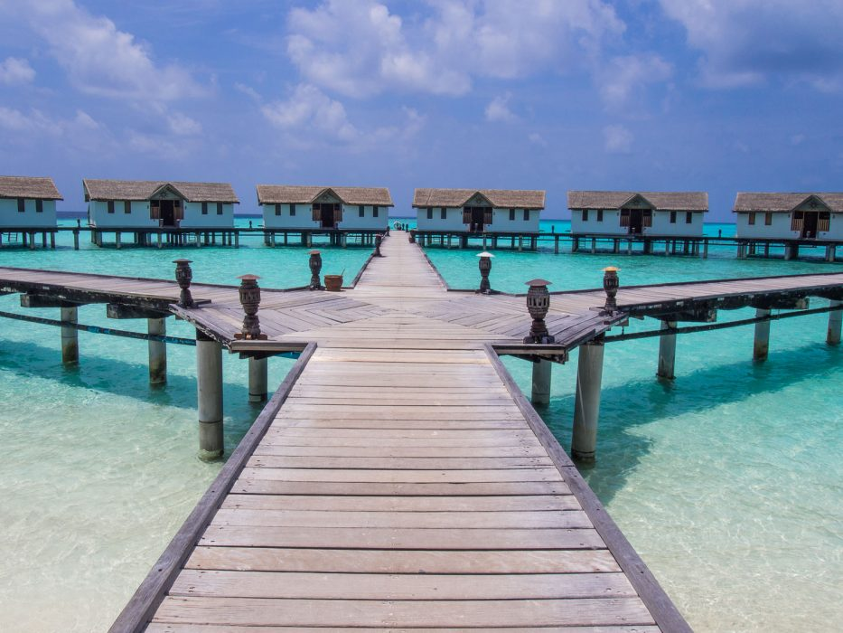 Affordable overwater bungalows in the Maldives at Reethi Beach Resort