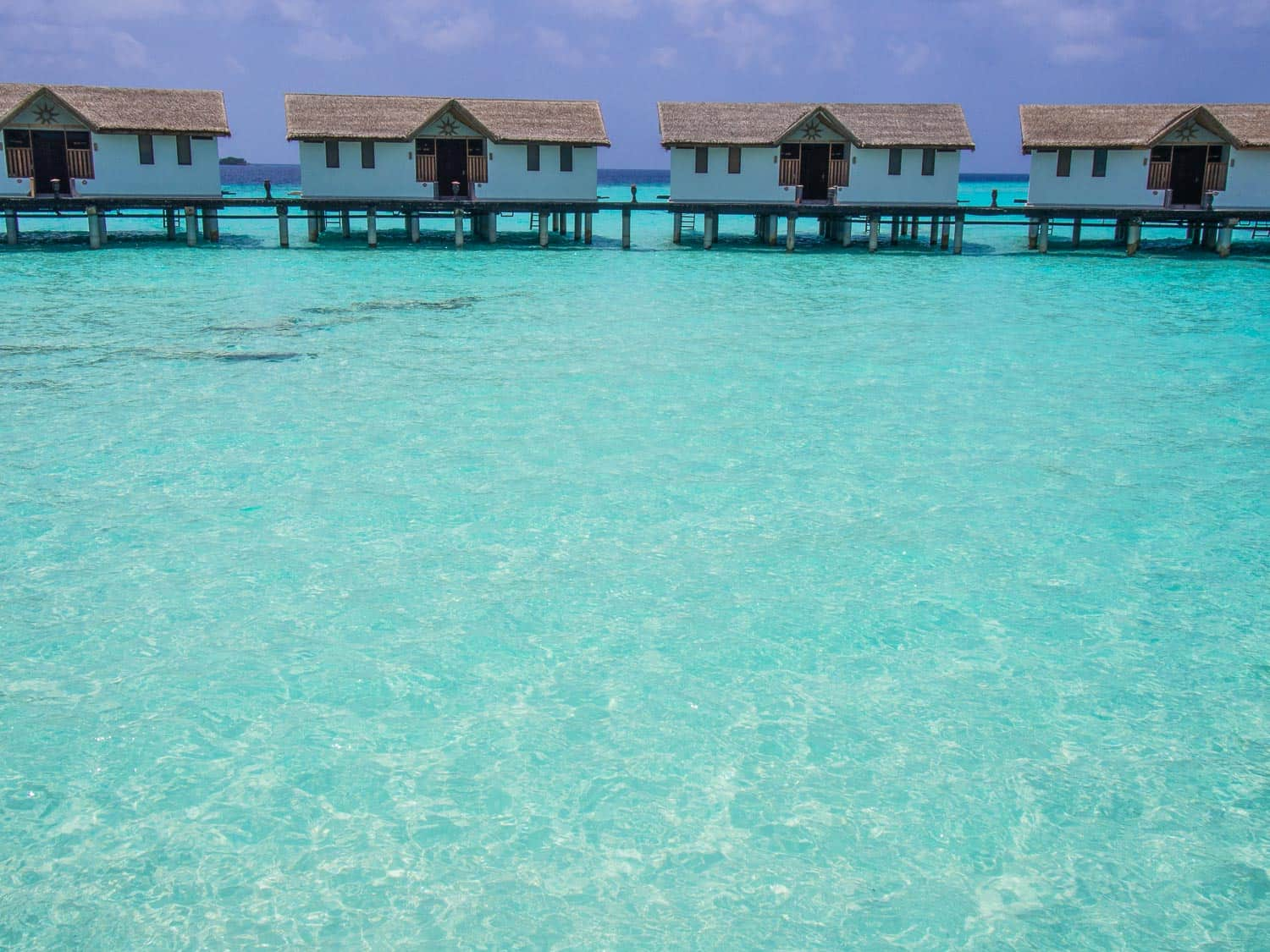 A Dream Come True: Staying in an Overwater Bungalow in the Maldives. Reethi Beach Resort has some of the most affordable (but still luxurious) overwater bungalows in the Maldives.