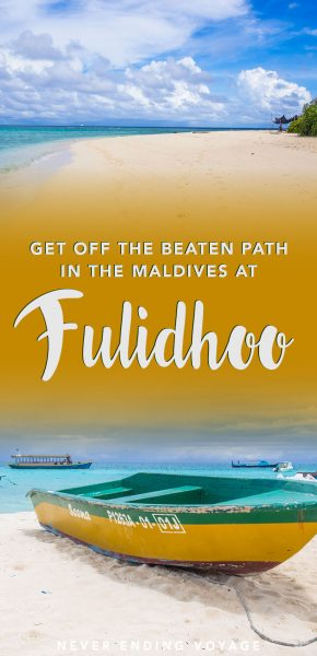 If you're looking to get off the beaten path to an island paradise in the Maldives, then look no further than Fulidhoo