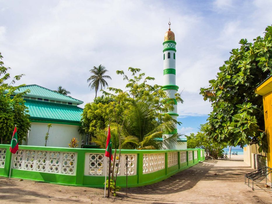 The mosque on Fulidhoo