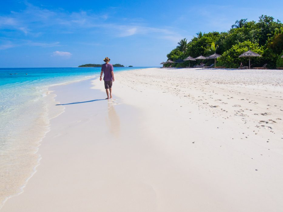 Reethi Beach Resort review: the west beach