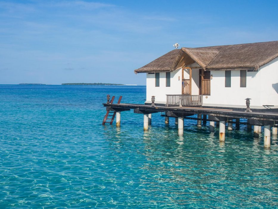 Reethi Beach Resort Review in the Maldives: our gorgeous water villa