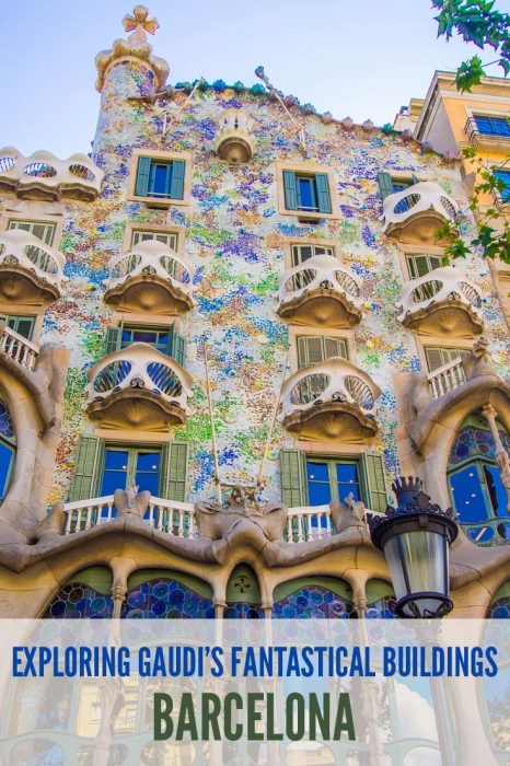 Gaudi's Casa Batllo was one of the stops on the Gaudi in Context walk we did with Context Travel in Barcelona. We learnt about the background to Catalan modernisme and saw many fantastical buildings by Gaudi and his peers. Definitely a highlight of Barcelona.