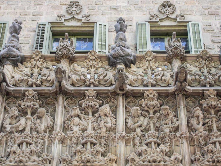 Palau del Baró de Quadras on the Gaudi in Context walk in Barcelona